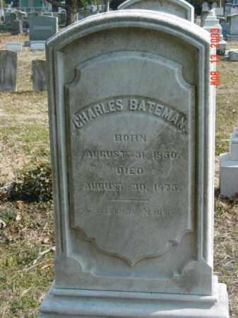 BATEMAN, CHARLES - Talbot County, Maryland | CHARLES BATEMAN - Maryland Gravestone Photos