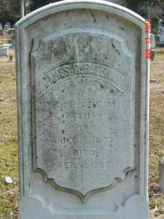 BATEMAN, JAMES G. - Talbot County, Maryland   JAMES G. BATEMAN - Maryland Gravestone Photos
