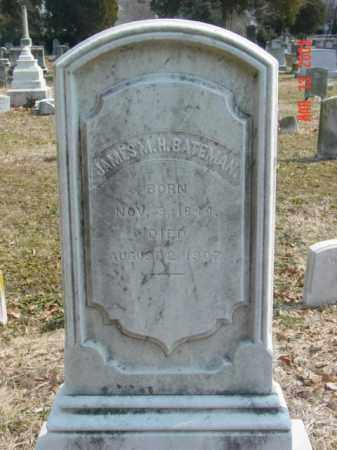 BATEMAN, JAMES M. H. - Talbot County, Maryland | JAMES M. H. BATEMAN - Maryland Gravestone Photos