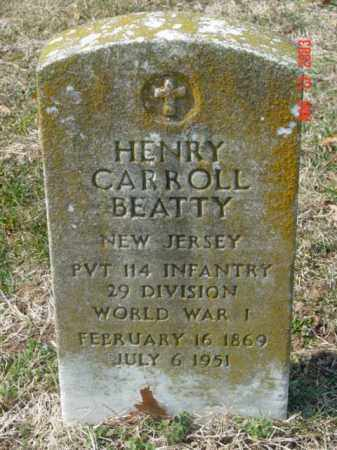 BEATTY, HENRY CARROLL - Talbot County, Maryland | HENRY CARROLL BEATTY - Maryland Gravestone Photos
