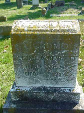 BENNETT, JEROME - Talbot County, Maryland | JEROME BENNETT - Maryland Gravestone Photos