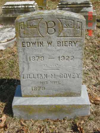 BIERY, EDWIN W. - Talbot County, Maryland   EDWIN W. BIERY - Maryland Gravestone Photos