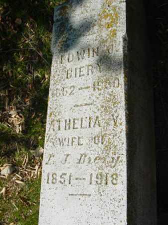 BIERY, EDWIN J. - Talbot County, Maryland | EDWIN J. BIERY - Maryland Gravestone Photos