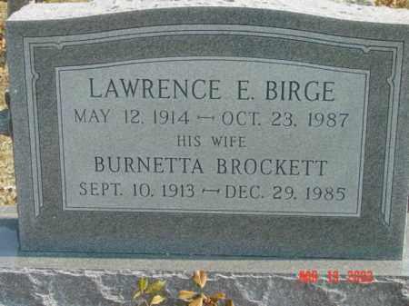 BIRGE, LAWRENCE E. - Talbot County, Maryland | LAWRENCE E. BIRGE - Maryland Gravestone Photos