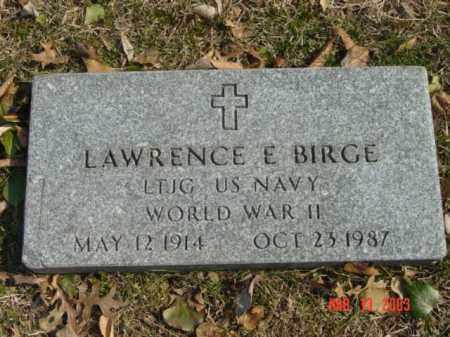 BIRGE, LAWRENCE E. - Talbot County, Maryland   LAWRENCE E. BIRGE - Maryland Gravestone Photos