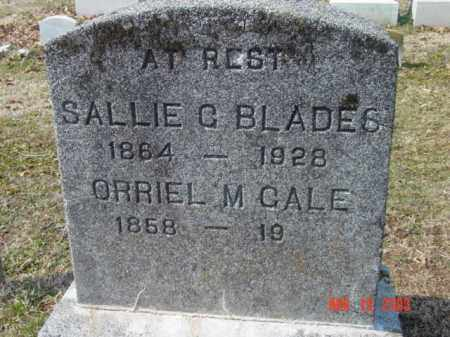 GALE, ORRIEL M. - Talbot County, Maryland | ORRIEL M. GALE - Maryland Gravestone Photos