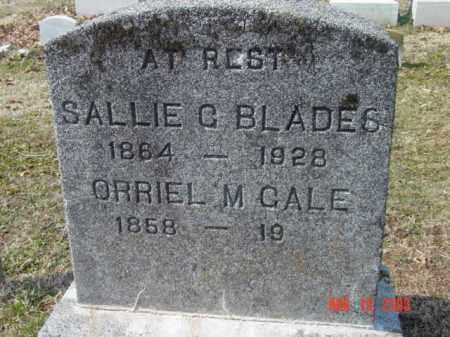 GALE, ORRIEL M. - Talbot County, Maryland | ORRIEL M. GALE - Maryland Gravestone Photos