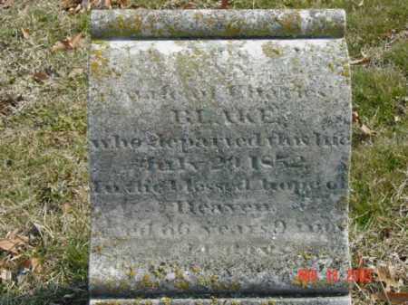 BLAKE, MRS. CHARLES - Talbot County, Maryland   MRS. CHARLES BLAKE - Maryland Gravestone Photos
