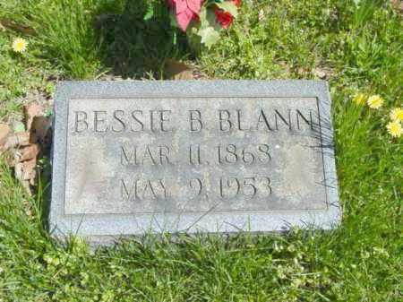 BLANN, BESSIE B. - Talbot County, Maryland   BESSIE B. BLANN - Maryland Gravestone Photos
