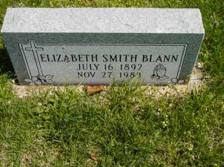 SMITH BLANN, ELIZABETH - Talbot County, Maryland | ELIZABETH SMITH BLANN - Maryland Gravestone Photos
