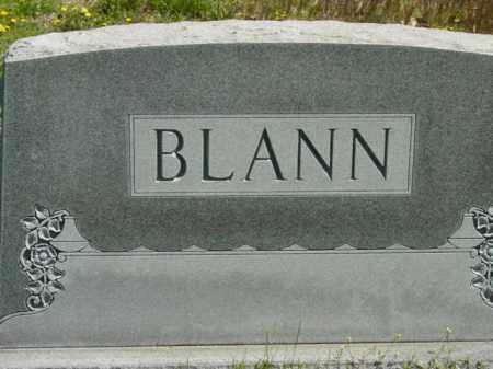 BLANN, MONUMENT - Talbot County, Maryland   MONUMENT BLANN - Maryland Gravestone Photos