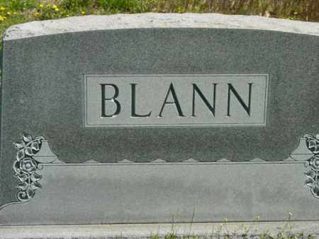 BLANN, MONUMENT - Talbot County, Maryland | MONUMENT BLANN - Maryland Gravestone Photos