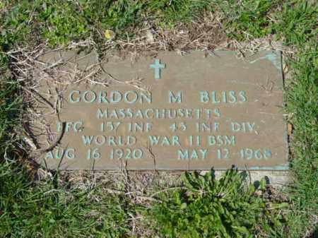 BLISS, GORDON M. - Talbot County, Maryland   GORDON M. BLISS - Maryland Gravestone Photos