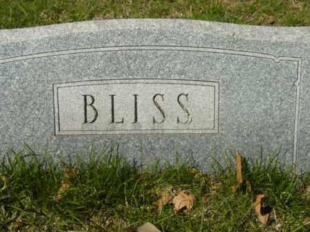 BLISS, MONUMENT - Talbot County, Maryland | MONUMENT BLISS - Maryland Gravestone Photos