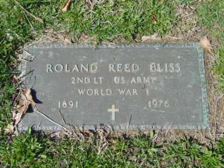 BLISS, ROLAND REED - Talbot County, Maryland | ROLAND REED BLISS - Maryland Gravestone Photos