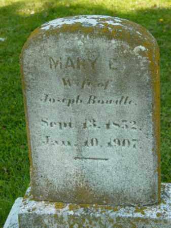 BOWDLE, MARY E. - Talbot County, Maryland | MARY E. BOWDLE - Maryland Gravestone Photos