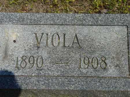 BOWDLE, VIOLA - Talbot County, Maryland | VIOLA BOWDLE - Maryland Gravestone Photos