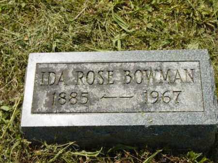 BOWMAN, IDA ROSE - Talbot County, Maryland   IDA ROSE BOWMAN - Maryland Gravestone Photos