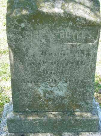 BOYLES, GEORGE - Talbot County, Maryland | GEORGE BOYLES - Maryland Gravestone Photos