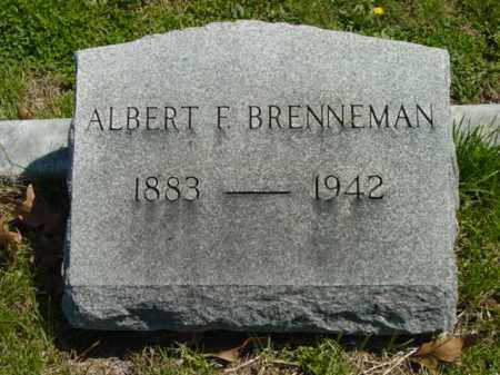 BRENNEMAN, ALBERT F. - Talbot County, Maryland | ALBERT F. BRENNEMAN - Maryland Gravestone Photos