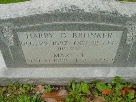 BRUNKER, HARRY C. - Talbot County, Maryland   HARRY C. BRUNKER - Maryland Gravestone Photos