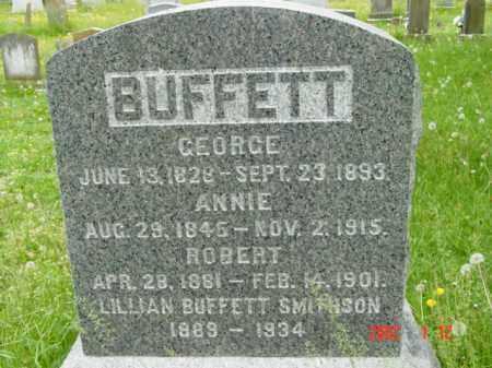 BUFFETT, GEORGE - Talbot County, Maryland | GEORGE BUFFETT - Maryland Gravestone Photos