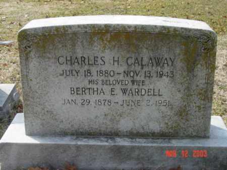 CALAWAY, CHARLES H. - Talbot County, Maryland | CHARLES H. CALAWAY - Maryland Gravestone Photos