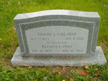 CALLAHAN, EDWARD J. - Talbot County, Maryland | EDWARD J. CALLAHAN - Maryland Gravestone Photos