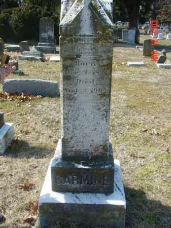 CARMINE, JOHN C. - Talbot County, Maryland   JOHN C. CARMINE - Maryland Gravestone Photos
