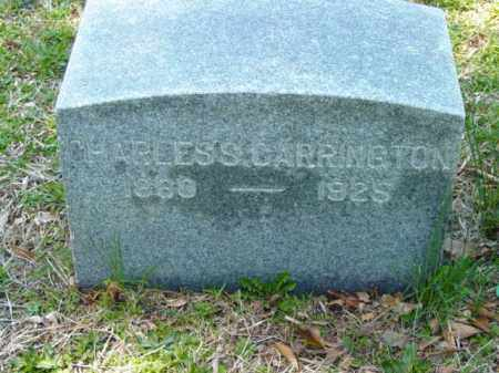 CARRINGTON, CHARLES S. - Talbot County, Maryland | CHARLES S. CARRINGTON - Maryland Gravestone Photos