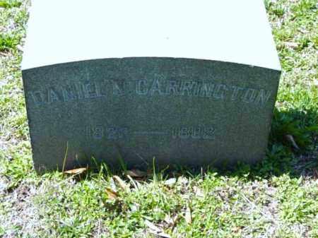 CARRINGTON, DANIEL N. - Talbot County, Maryland | DANIEL N. CARRINGTON - Maryland Gravestone Photos
