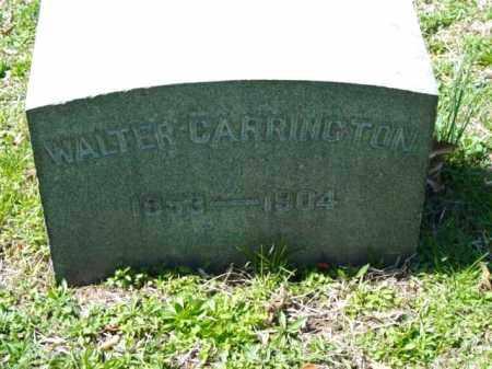 CARRINGTON, WALTER - Talbot County, Maryland   WALTER CARRINGTON - Maryland Gravestone Photos