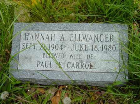 CARROLL, HANNAH A. - Talbot County, Maryland | HANNAH A. CARROLL - Maryland Gravestone Photos