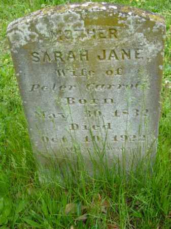CARROLL, SARAH JANE - Talbot County, Maryland | SARAH JANE CARROLL - Maryland Gravestone Photos