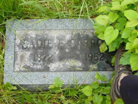 CARROLL, SADIE E. - Talbot County, Maryland | SADIE E. CARROLL - Maryland Gravestone Photos