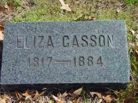 CASSON, ELIZA - Talbot County, Maryland | ELIZA CASSON - Maryland Gravestone Photos