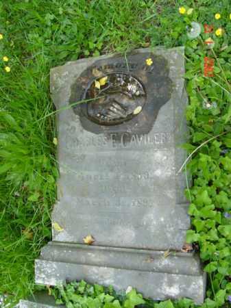 CAVILERT, CHARLES E. - Talbot County, Maryland   CHARLES E. CAVILERT - Maryland Gravestone Photos