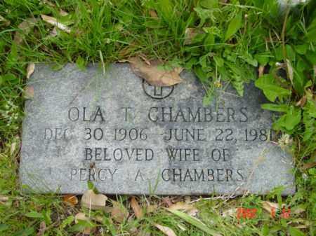 CHAMBERS, OLA T. - Talbot County, Maryland | OLA T. CHAMBERS - Maryland Gravestone Photos