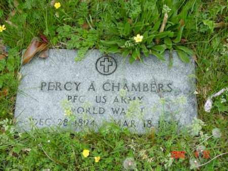 CHAMBERS, PERCY A. - Talbot County, Maryland | PERCY A. CHAMBERS - Maryland Gravestone Photos
