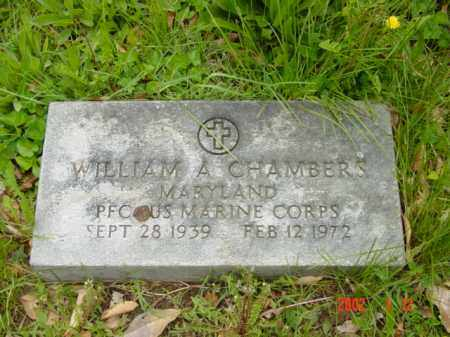 CHAMBERS, WILLIAM A. - Talbot County, Maryland | WILLIAM A. CHAMBERS - Maryland Gravestone Photos