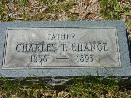 CHANCE, CHARLES T. - Talbot County, Maryland | CHARLES T. CHANCE - Maryland Gravestone Photos