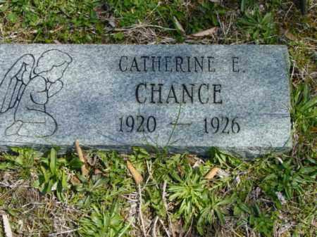 CHANCE, CATHERINE E. - Talbot County, Maryland   CATHERINE E. CHANCE - Maryland Gravestone Photos