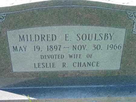SOULSBY CHANCE, MILDRED E. - Talbot County, Maryland | MILDRED E. SOULSBY CHANCE - Maryland Gravestone Photos