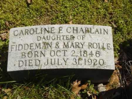 CHAPLAIN, CAROLINE F. - Talbot County, Maryland   CAROLINE F. CHAPLAIN - Maryland Gravestone Photos