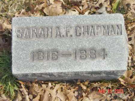 CHAPMAN, SARAH A.F. - Talbot County, Maryland   SARAH A.F. CHAPMAN - Maryland Gravestone Photos