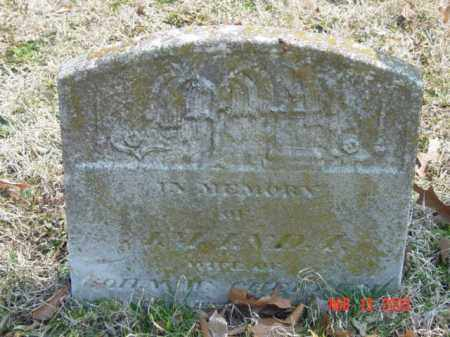 CHEEZUM, AMANDA - Talbot County, Maryland   AMANDA CHEEZUM - Maryland Gravestone Photos