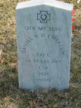 CHEEZUM, DANIEL R. D. - Talbot County, Maryland   DANIEL R. D. CHEEZUM - Maryland Gravestone Photos