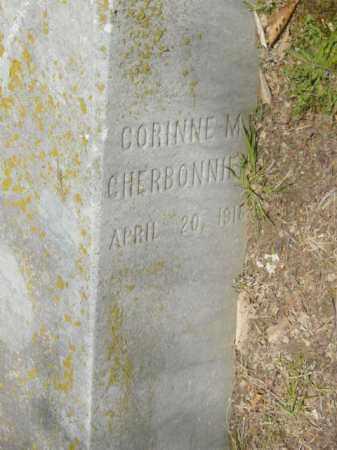 CHERBONNIER, CORINNE M. - Talbot County, Maryland | CORINNE M. CHERBONNIER - Maryland Gravestone Photos