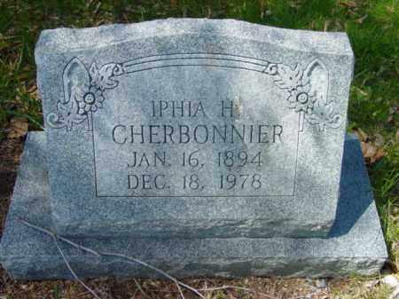 CHERBONNIER, IPHIA H. - Talbot County, Maryland   IPHIA H. CHERBONNIER - Maryland Gravestone Photos