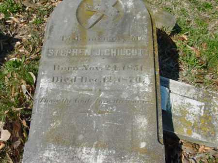 CHILCUT, STEPHEN J. - Talbot County, Maryland | STEPHEN J. CHILCUT - Maryland Gravestone Photos